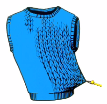 Fascial Restrictions are similar to snags in the fabric of a sweater.